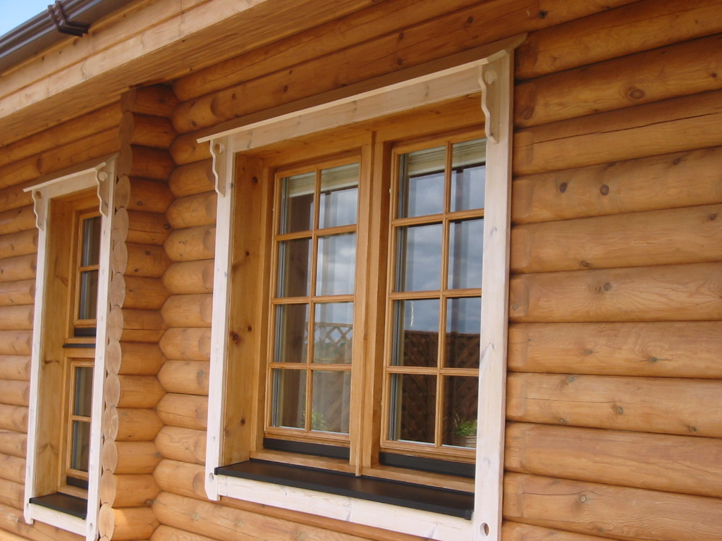 Michael carr joinery log homes for Windows for log cabins