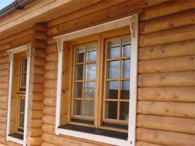 Michael carr joinery for Windows for log homes